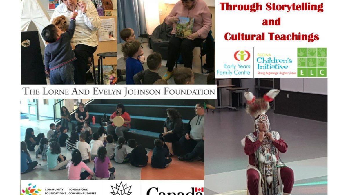 Building brains through storytelling and cultural teachings